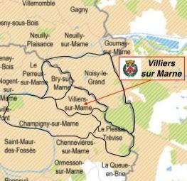 Présentation de la ville de Villiers sur Marne