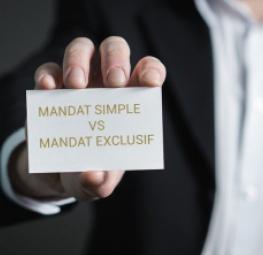 quel mandat choisir pour vendre : simple ou exclusif?