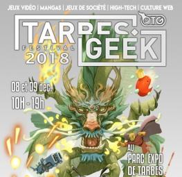 Tarbes geek festival le 8 et 9 décembre